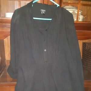 Brand new torrid's button down top